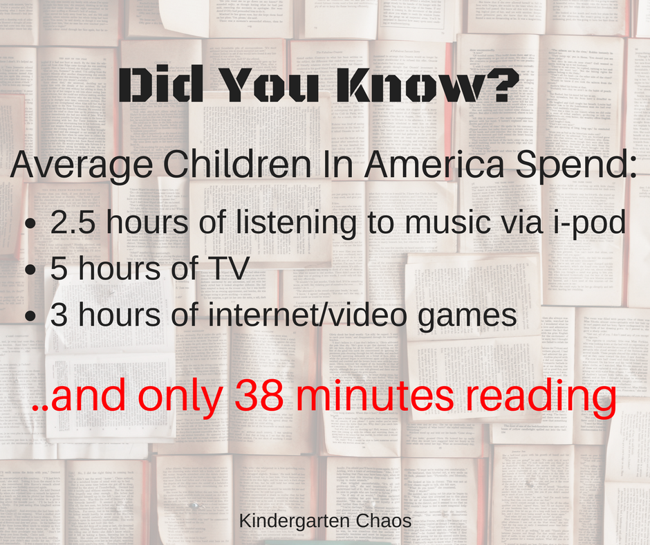 Shocking Statistics On Average Children & Media vs. Reading