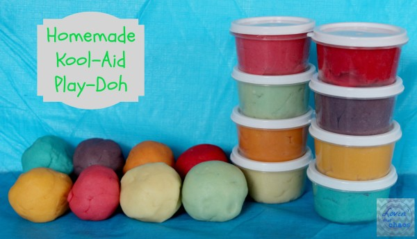 Homemade Kool-Aid Play Doh