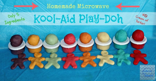 How To Make Quick & Easy Microwave Kool-Aid PlayDoh
