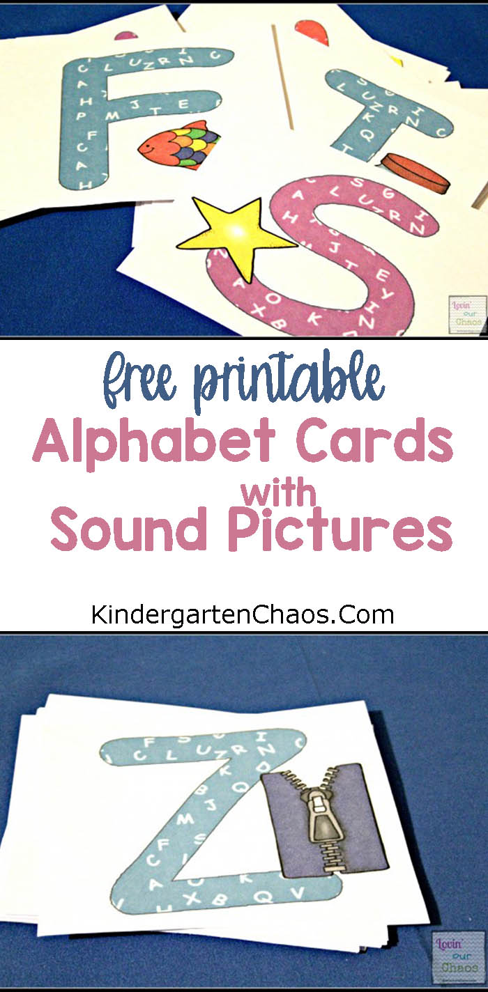{Free Printable} Alphabet Cards With Pictures Sounds: Help Children With Letter Sounds and Recognition