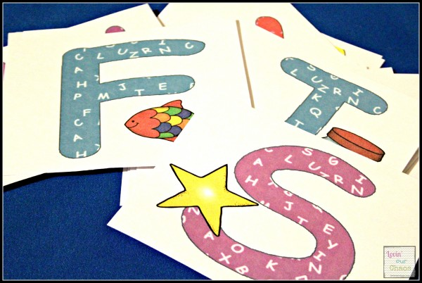 Print & Cut your own Alphabet Cards with sound pictures 006