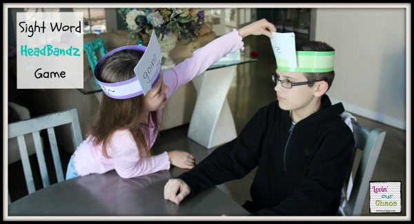 Sight Word Headbandz Game Perfect for all Ages