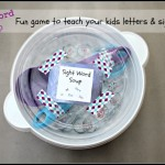 Sight Word Soup Game