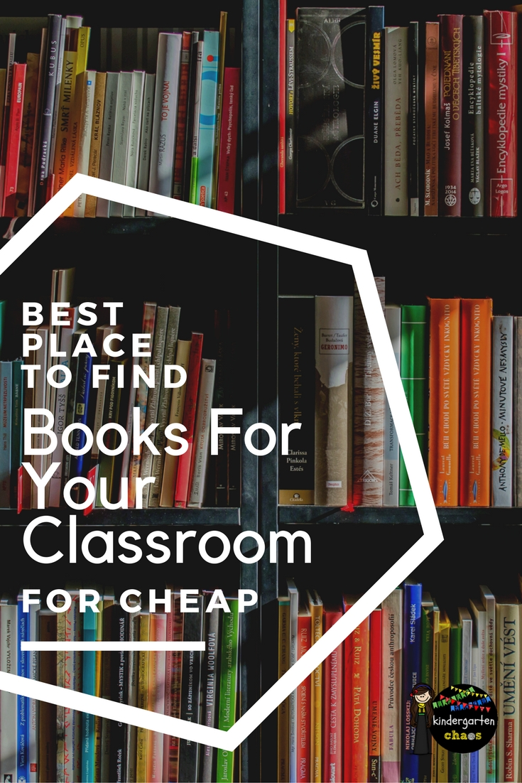 My best tips for finding low cost books for your classroom. #readingforkids #childrensbooks #classroomsupplies #teachers #teacherhacks