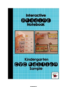 Kindergarten Reading Notebook Word Work from The Teacher Gene