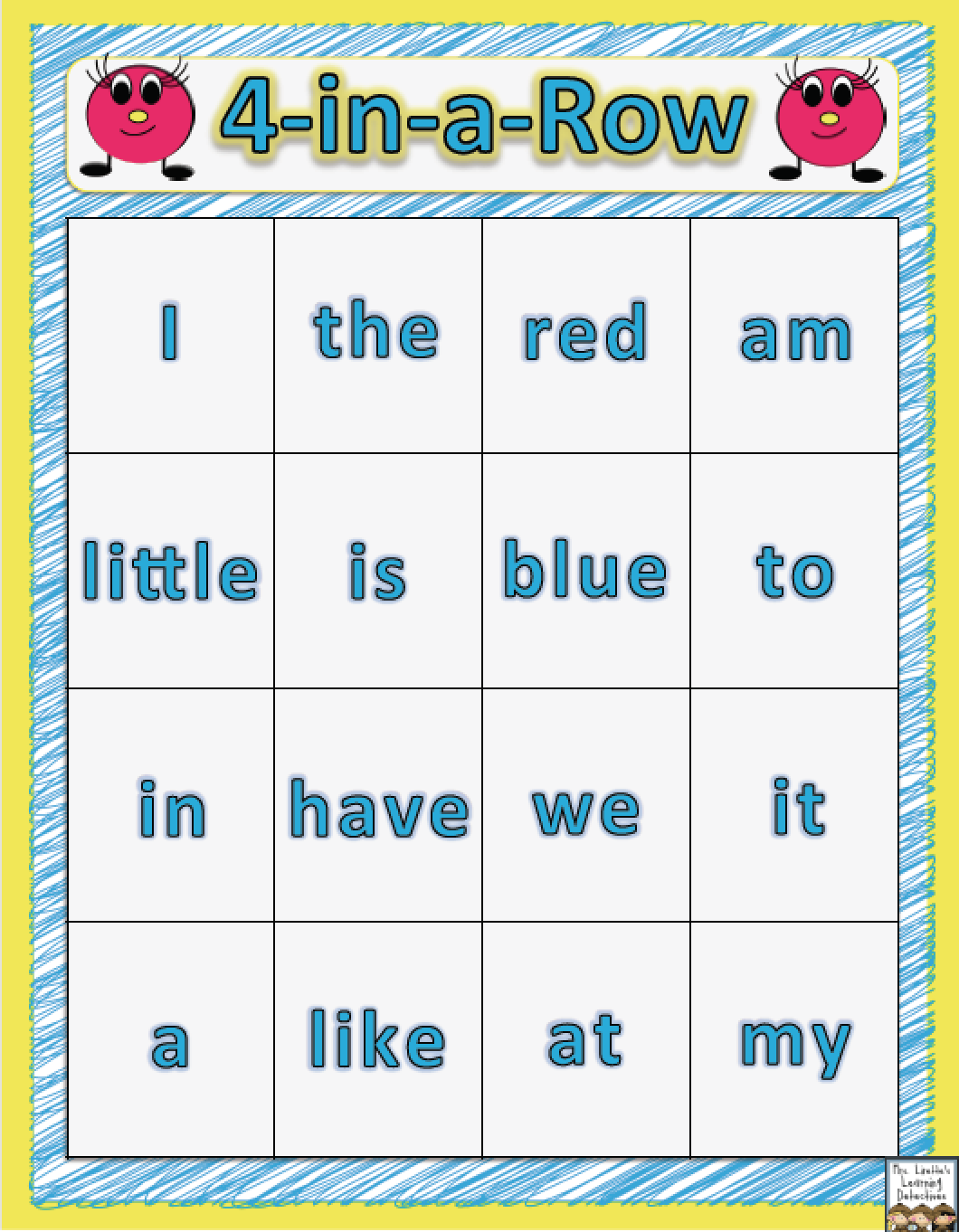 Work! No Prep Printables for Spelling or Sight Word Practice!