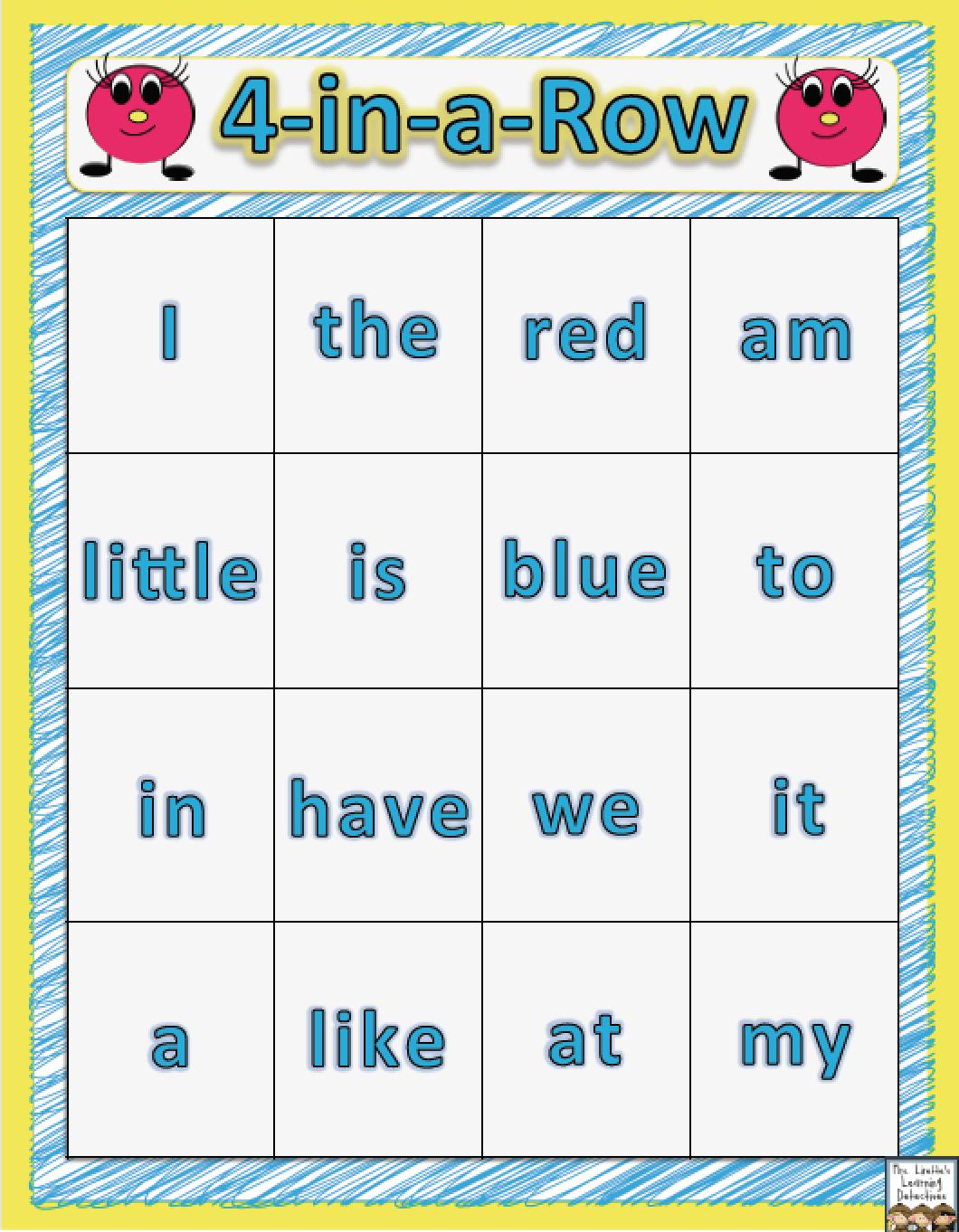 25+ Fun & Free Ideas For Kindergarten Word Work