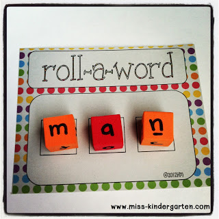 Word Work Ideas from miss-kindergarten