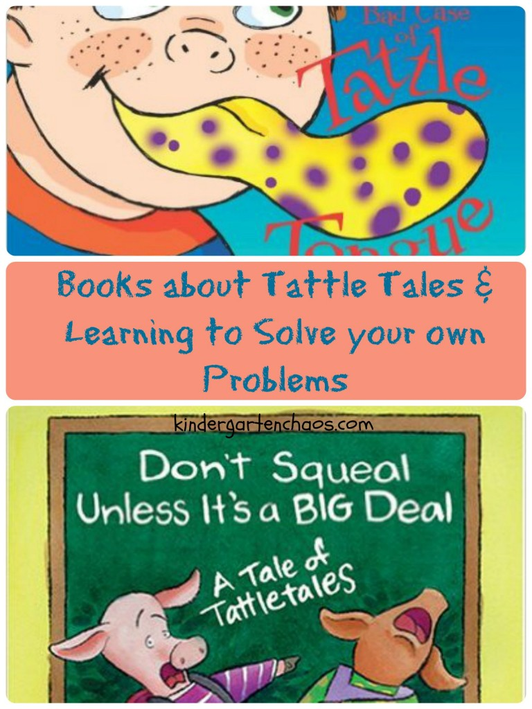 Books about Tattle Tales & solving your own problems