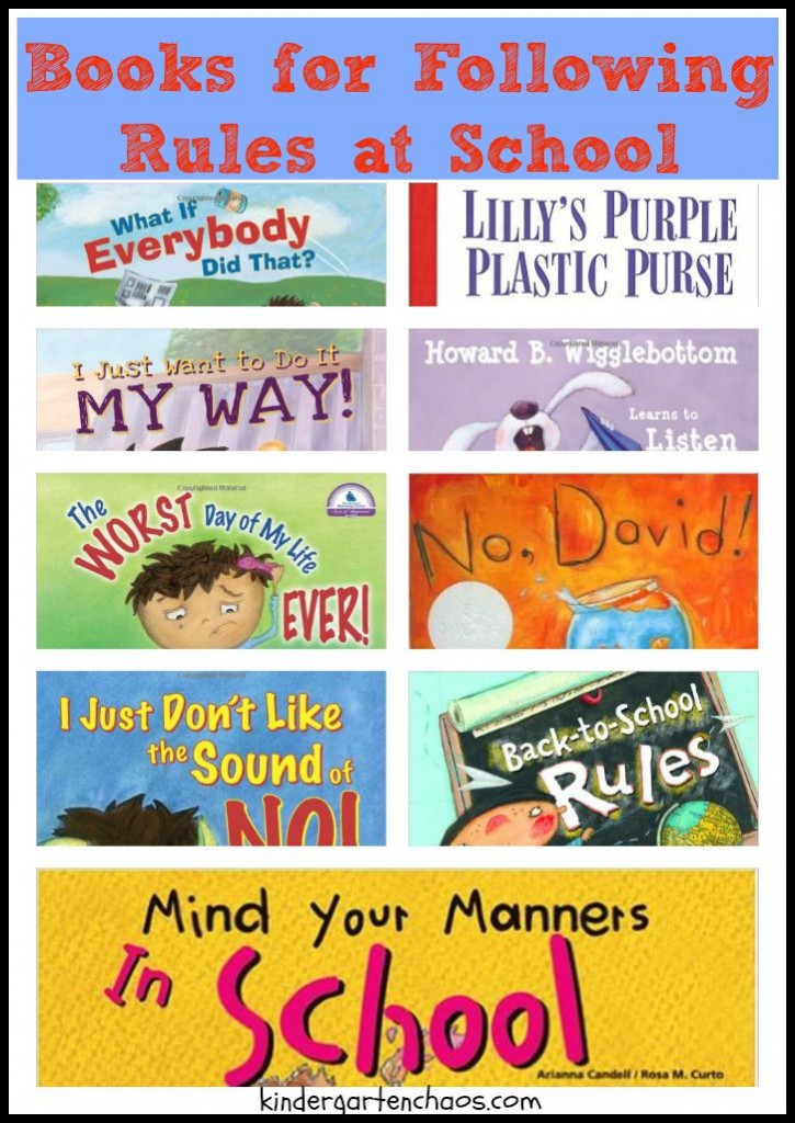 Books for Following Rules at School