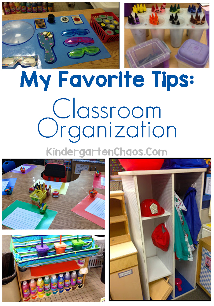 My Favorite Tips For Classroom Organization