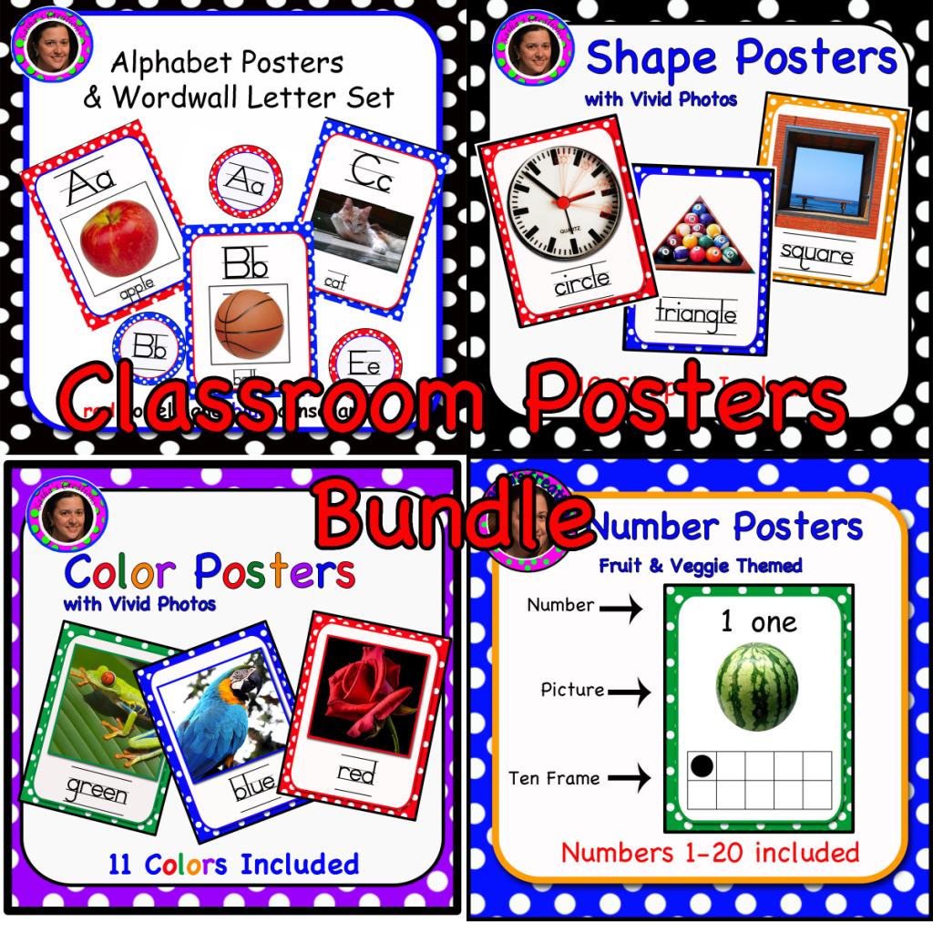 Classroom Posters Bundler