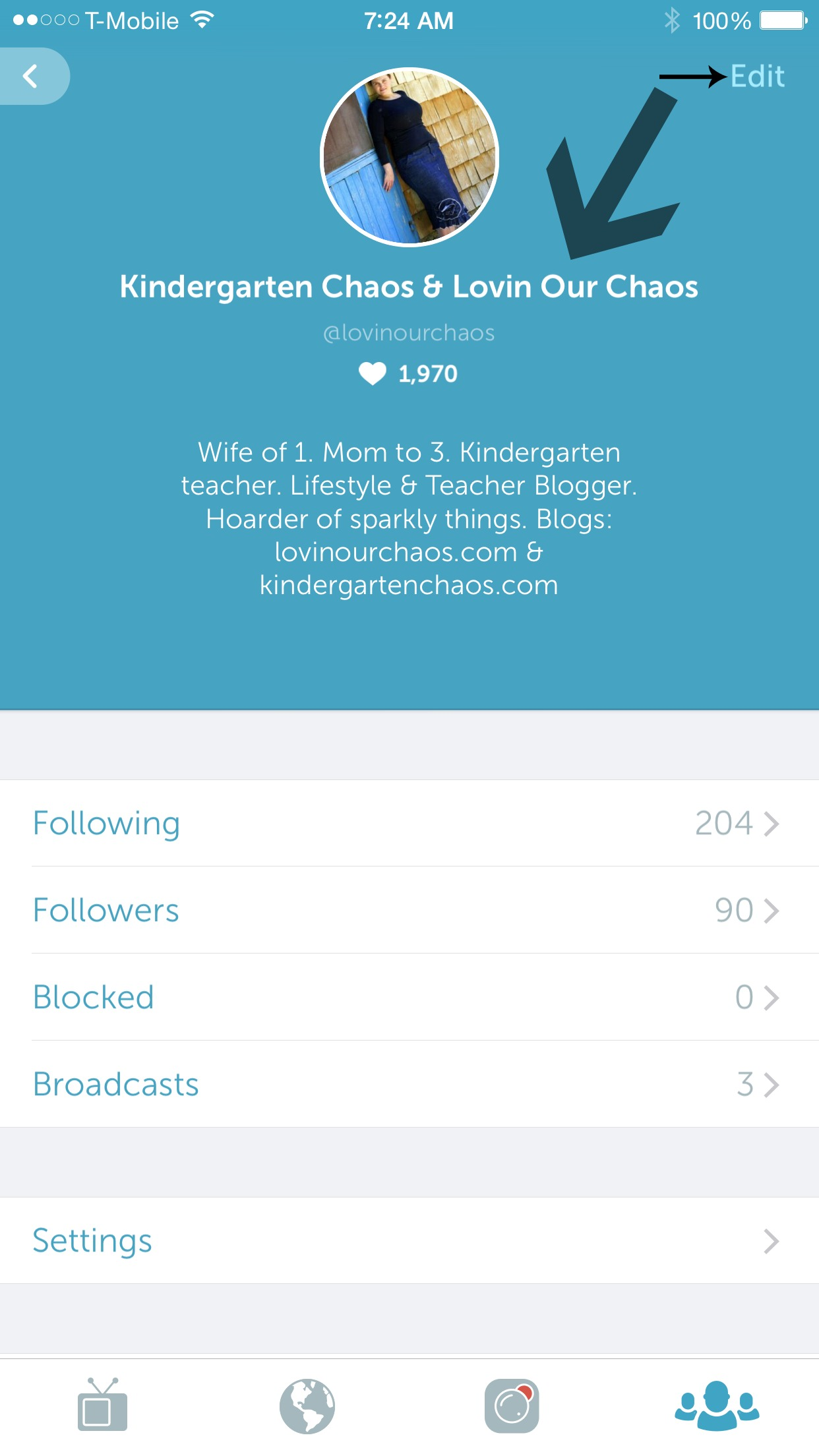 Periscope Profile Tips & Tricks