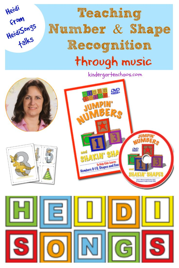 Teaching Number & Shape Recognition through Music