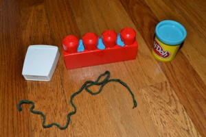 Using Playdough for Dental Health Month