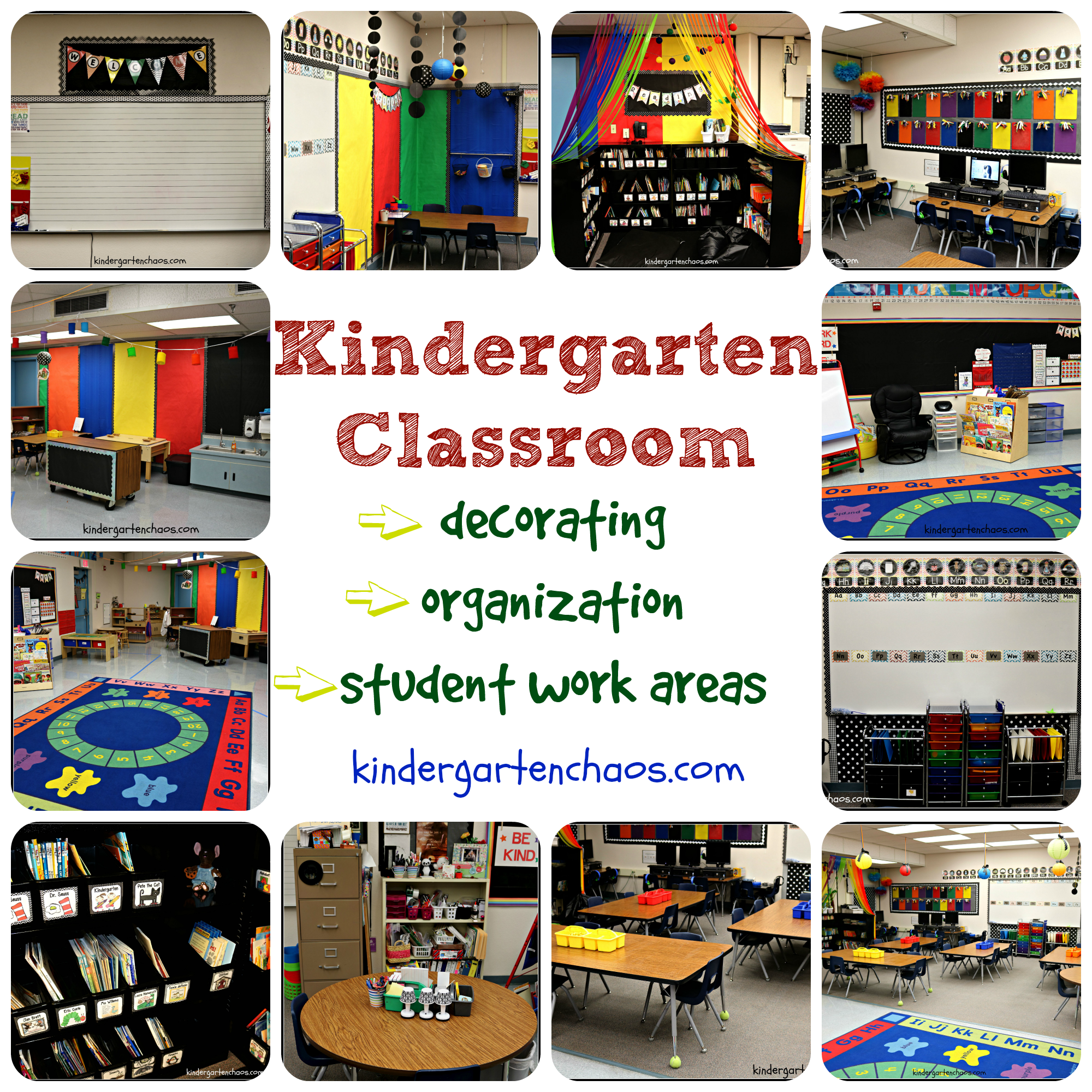 Kindergarten Classroom Reveal Pictures