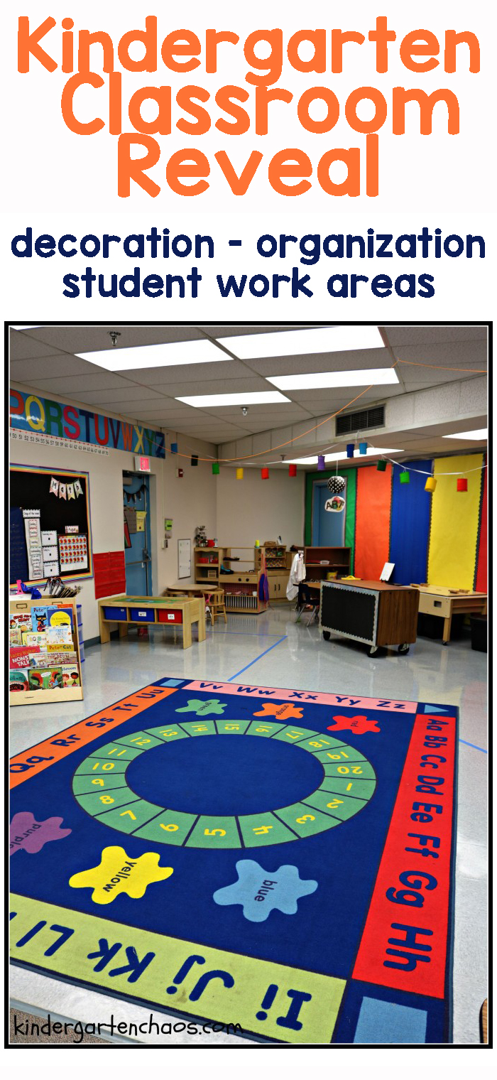My Kindergarten Classroom Reveal: Organization, Decorations & More