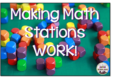 How To Set Up An Effective Math Work Stations in the Classroom