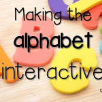 Making the Alphabet Interactive