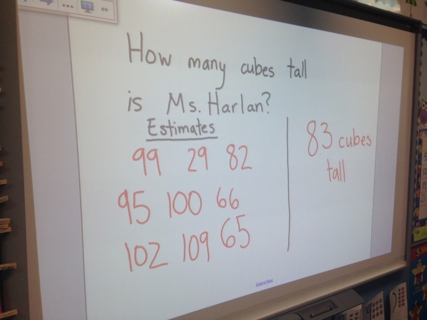 Using the Smartboard for Guided Math