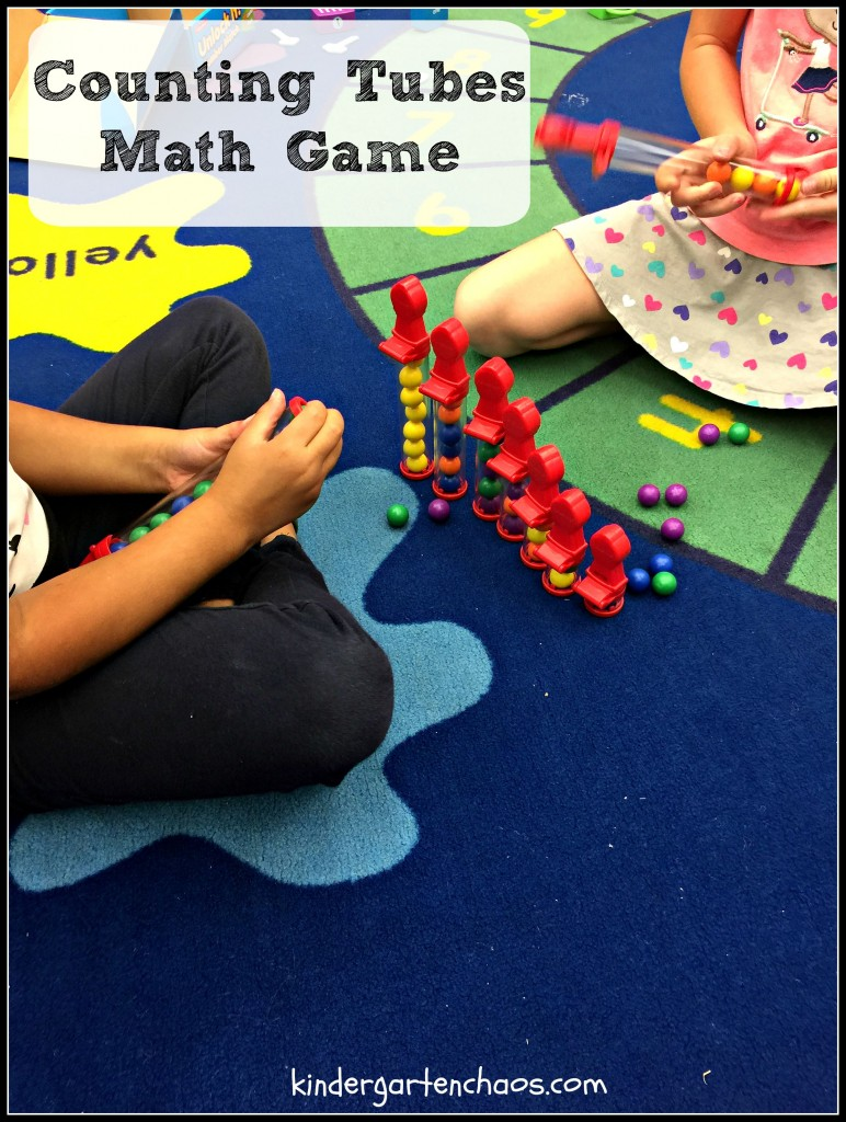 Counting Tubes Math Game