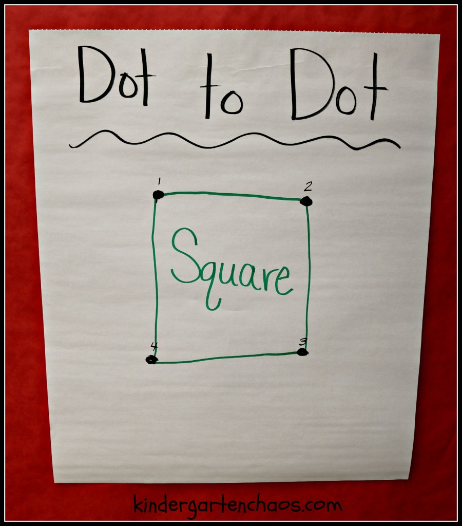 Dot to Dot Anchor Chart