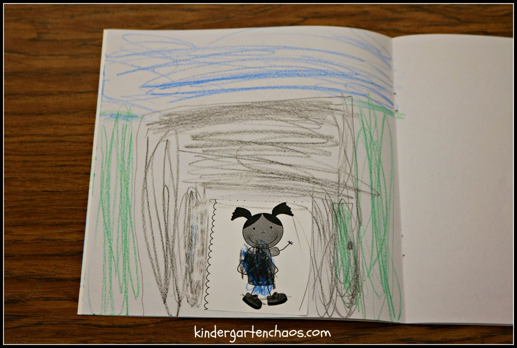 Drawing a Setting to a Picture in Kindergarten