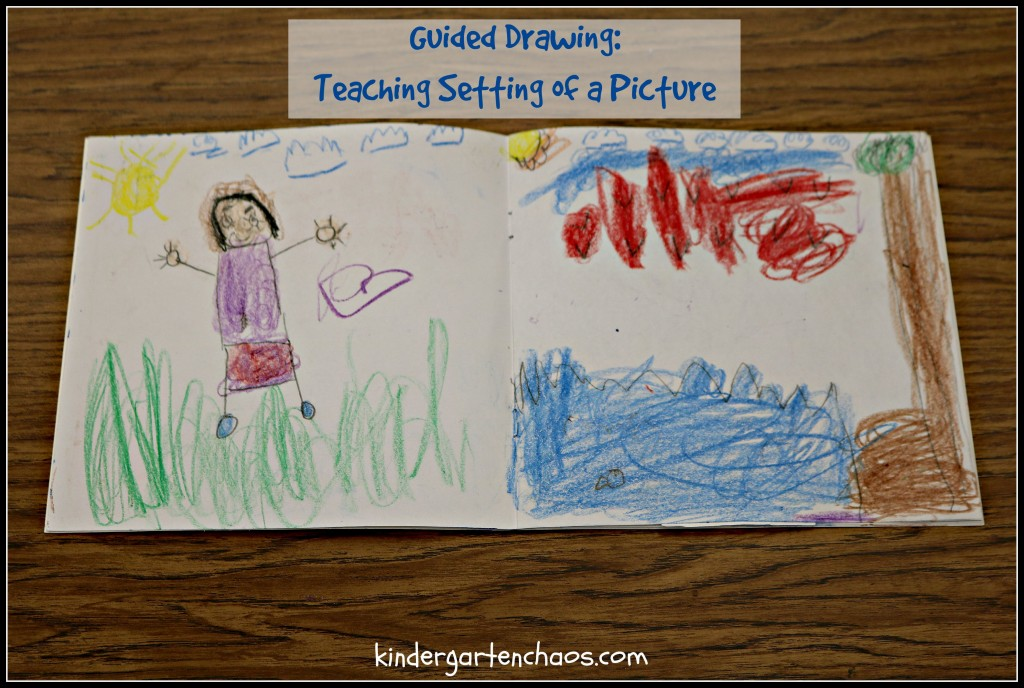 Guided Drawing Teaching Setting of a Picture