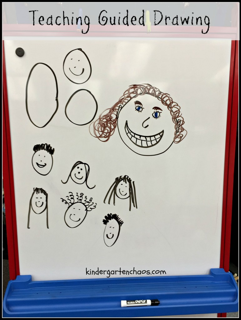 Teaching Guided Drawing - Using Shapes and Details
