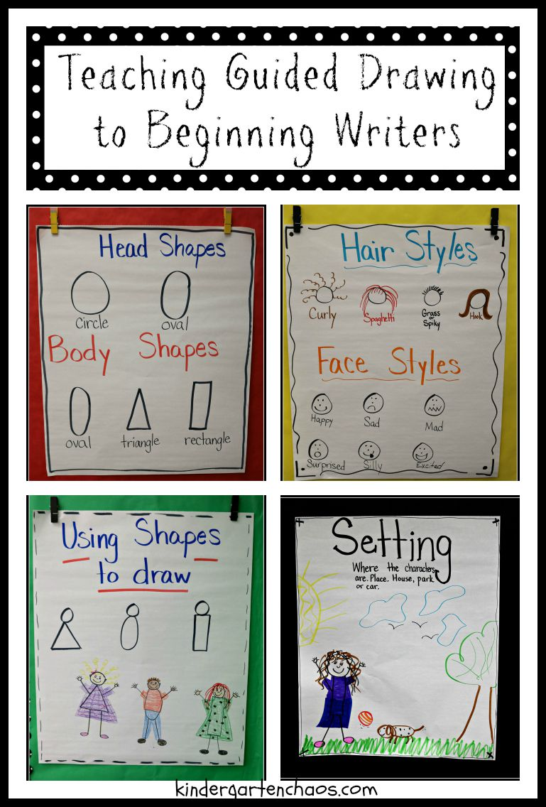 Kindergarten small group writing activities