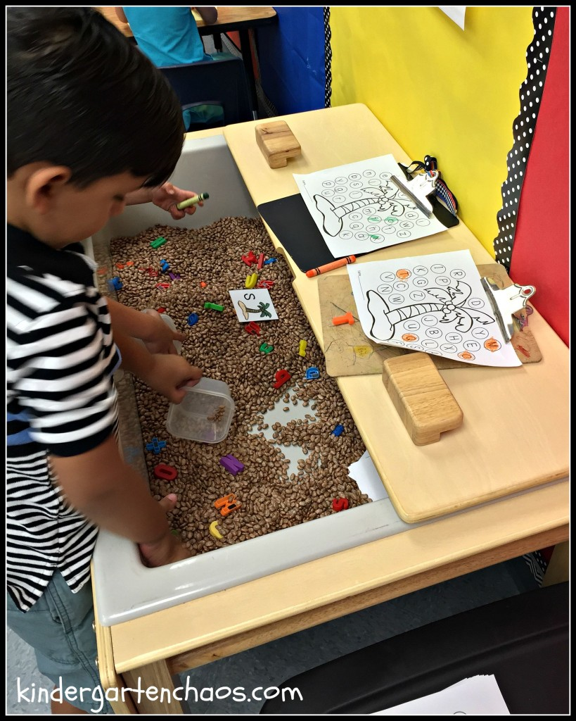 Using Sensory Tables in the Classroom