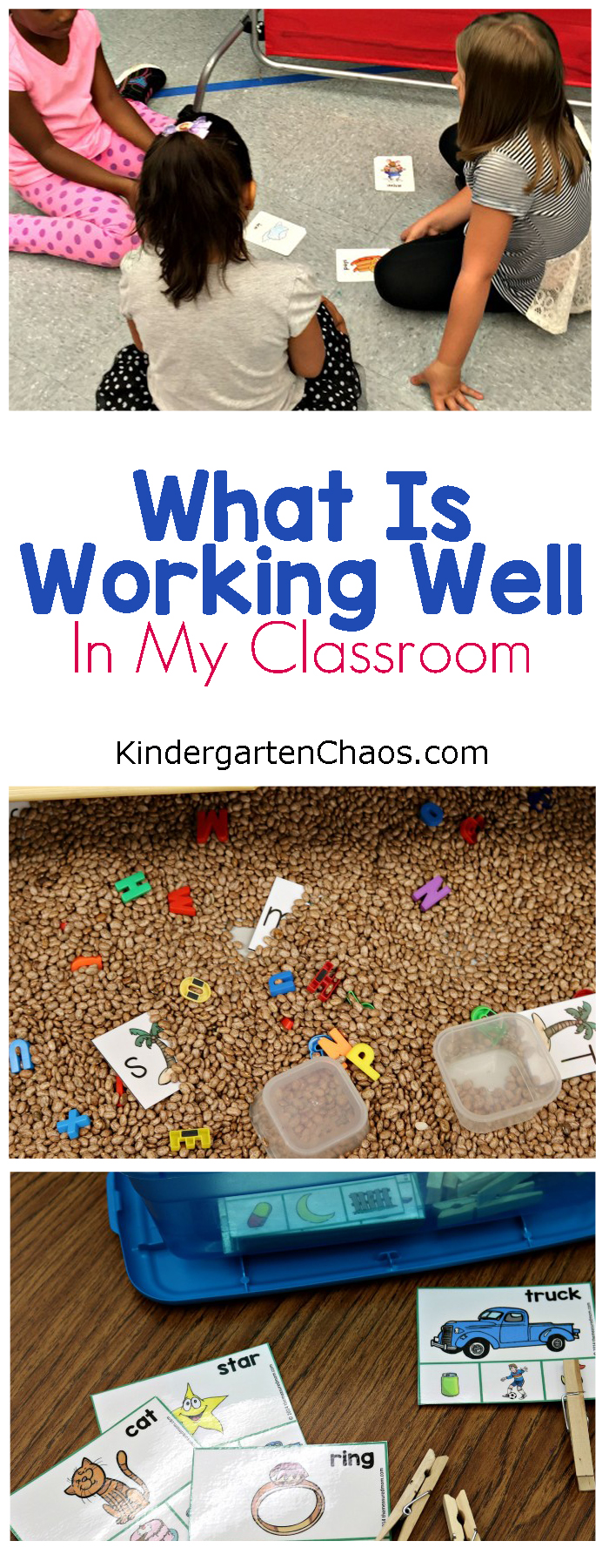 What is working well in my kindergarten classroom