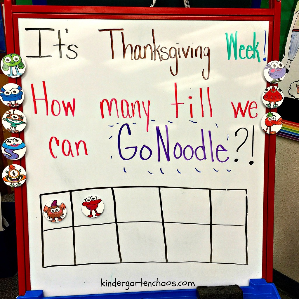 GoNoodle Behavior Ten Frame with Magnets - kindergartenchaos.com