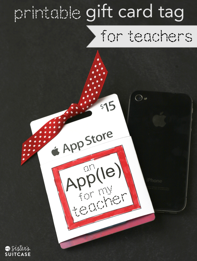 Apple I-tunes printable-gift-card-holder