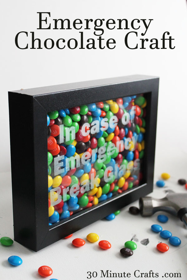 Emergency-Chocolate-Craft-on-30-Minute-Crafts