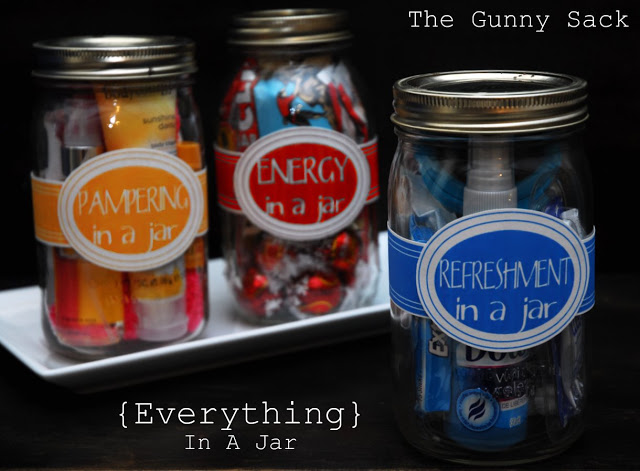 Everything in a Jar Handmade Gifts