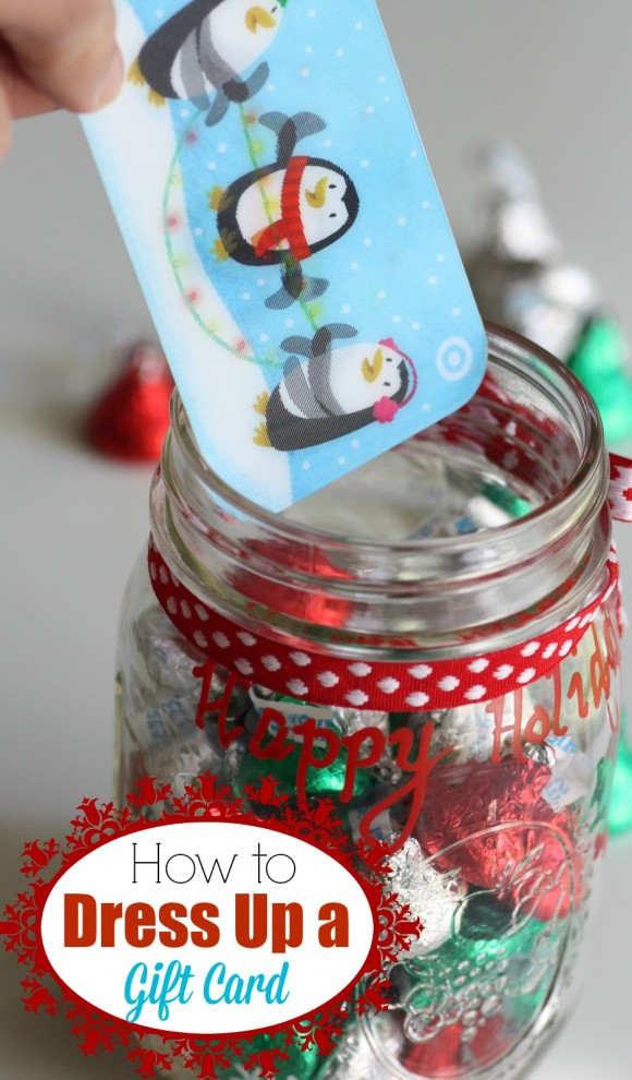 Gift Card Mason Jar Holder