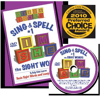 HeidiSongs Sing & Spell DVD