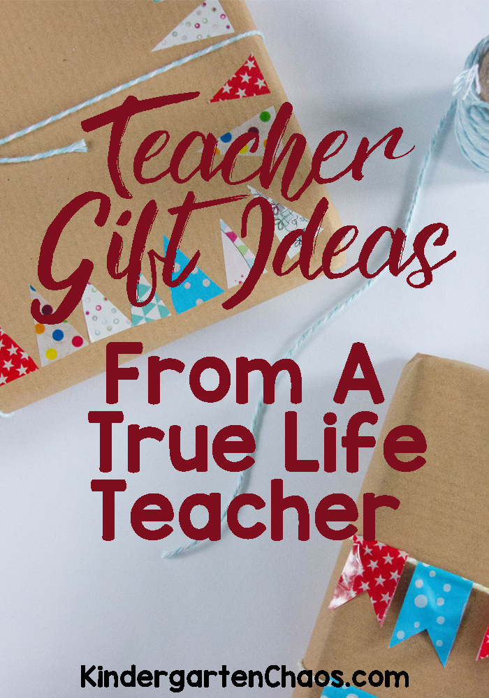 Teacher Gift Ideas From A True Life Teacher: Gifts Teachers Actually Want. DIY Gifts For Teacher Appreciation.