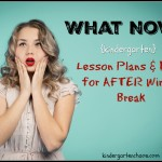 What now? Lesson Plans & Ideas For After Winter Break