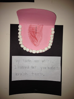Dental Writing for Kindergartners