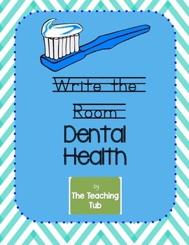FREE Dental Health Write the Room