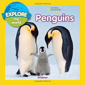 National Geographic Penguins Explore my World Book
