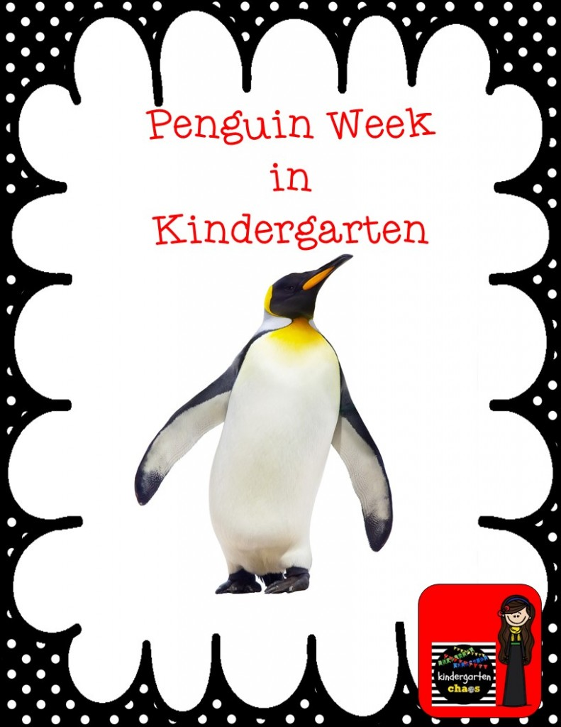 Penguin Week in Kindergarten - kindergartenchaos.com