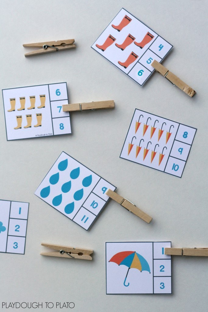 Rainy-day-number-clip-cards.-Fun-for weather