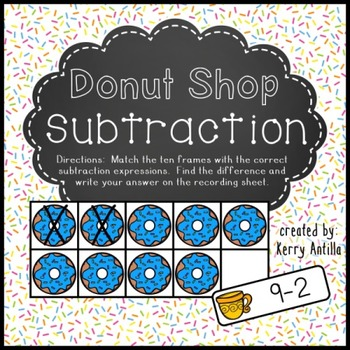Donut Shop Subtraction