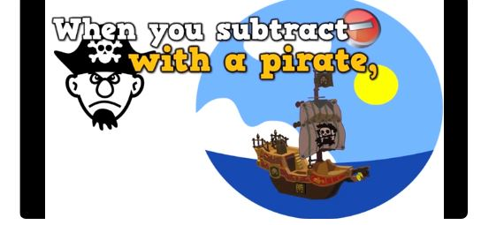 Subtract with a Pirate