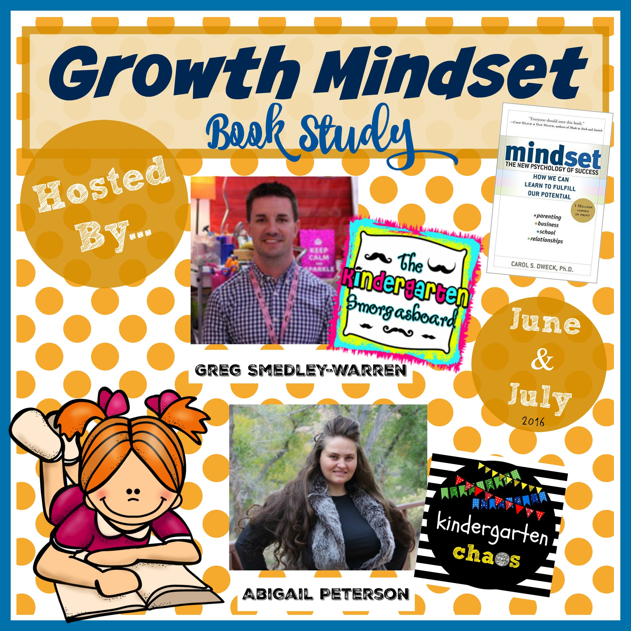 Growth Mindset Summer Book Study - kindergartensmorgasboard and kindergartenchaos
