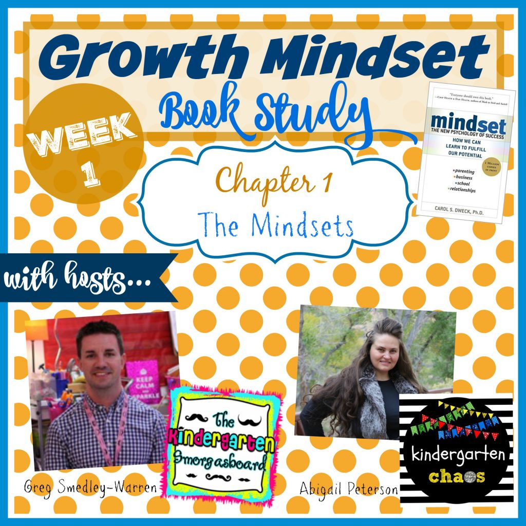 Growth Mindset Book Study - Week 1 - The Mindsets
