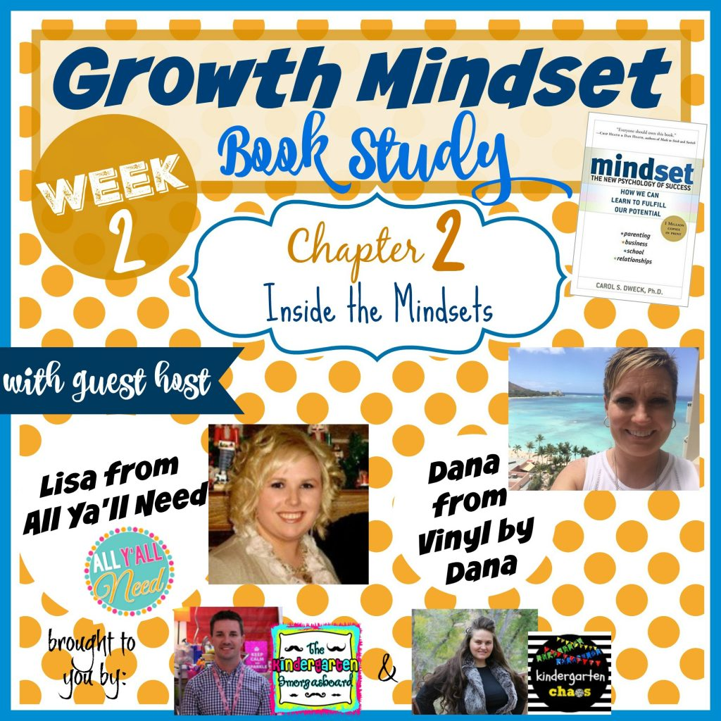 Growth Mindset Book Study with Guest Hosts Lisa & Dana